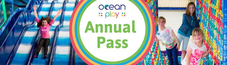 Annual Membership Ocean Exmouth soft play